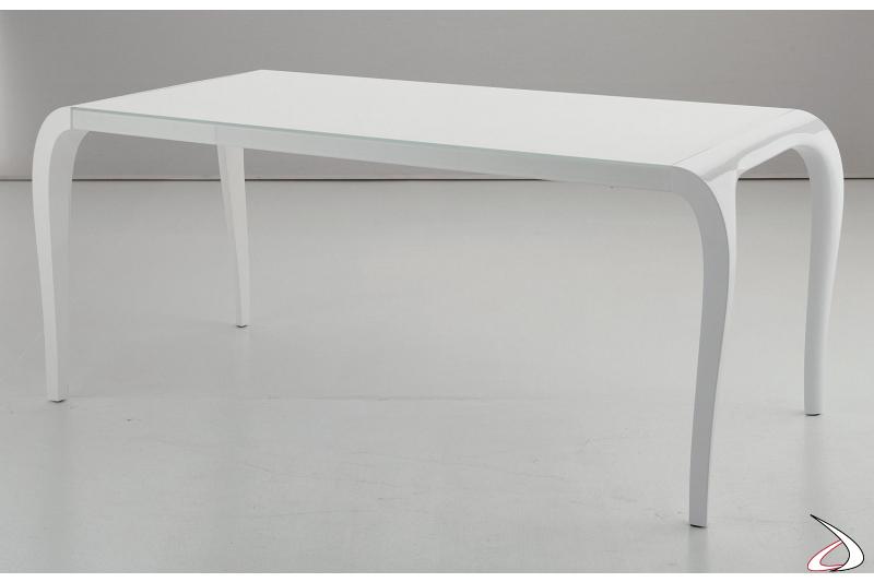 Tavolo elegante di design da soggiorno allungabile