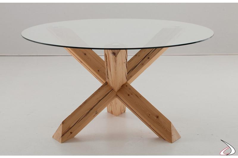 Tavolo da pranzo di design rotondo