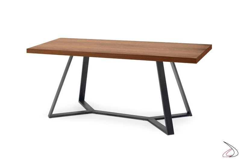 Tavolo Arca con struttura in acciaio