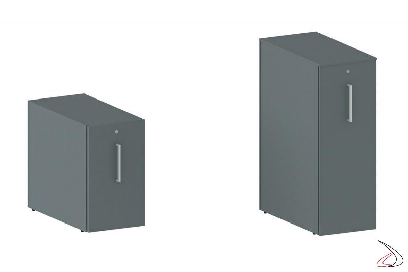 Cassettiera moderna da ufficio con serratura