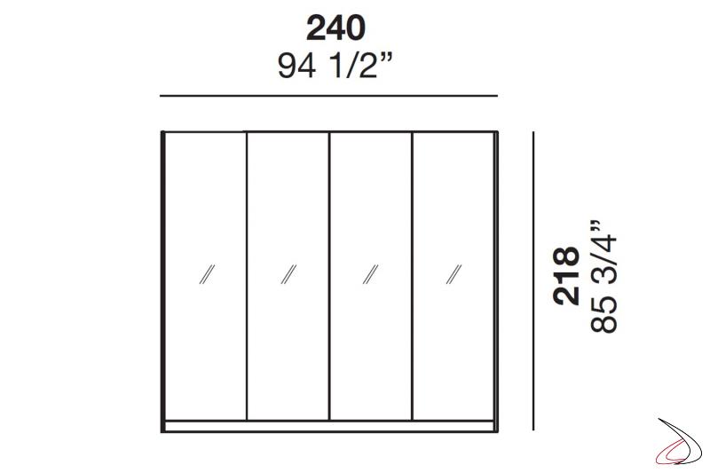 Misure vetrine retroilluminate da cucina