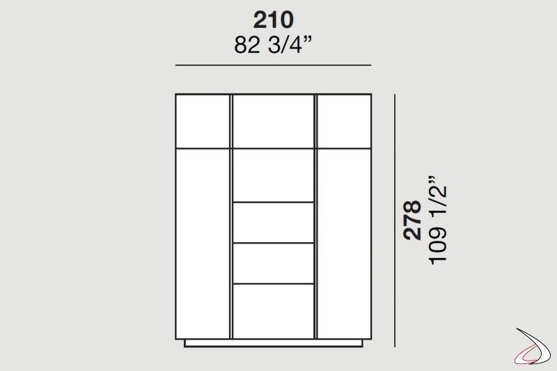 Medidas de la columna del horno y del microondas para una cocina moderna con península