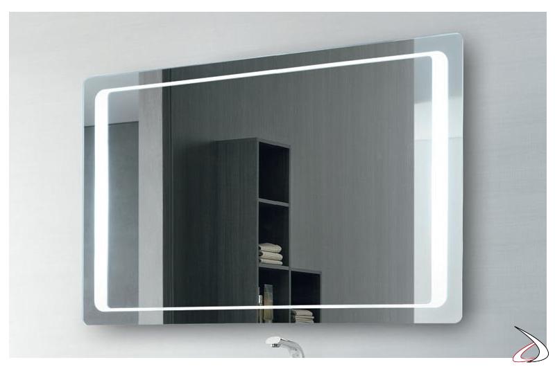 Specchio design multimediale con cassa a vibrazione