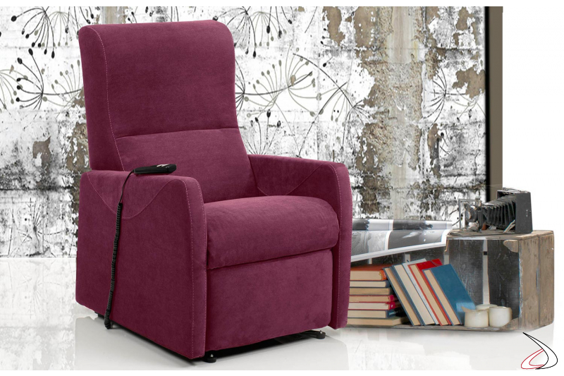 Poltrona relax reclinabile e confortevole per una seduta da