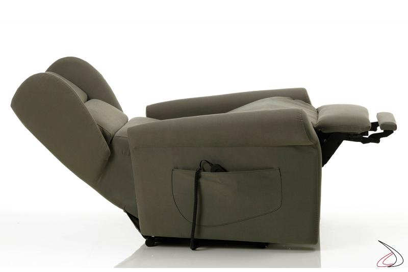 Poltrona relax con doppio meccanismo per il massimo comfort