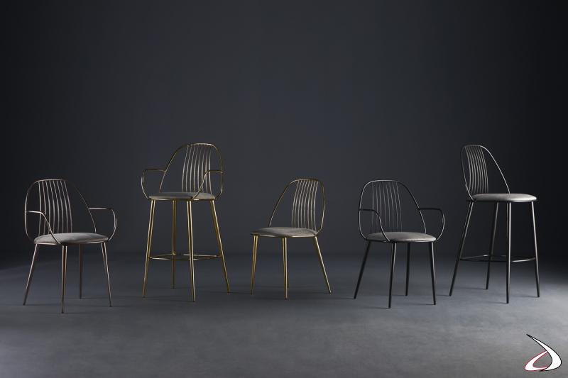 Collezione seduta Waiya design E. Girotti by Colico.
