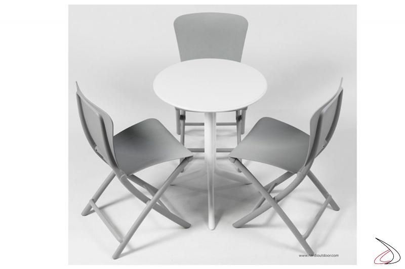 Dettaglio sedie richiudibili Zac Classic