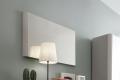 Specchio rettangolare con cornice alluminio da posizionare a muro in ingresso