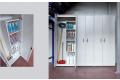 Armadio in metallo da garage porta attrezzi