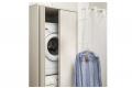 Armadio lavanderia con stendibiancheria estraibile