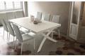Tavolo consolle moderna da soggiorno trasformabile in tavolo da pranzo per 10 persone