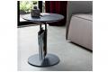 Tavolino di design rotondo per fianco divano