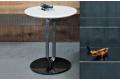 Tavolino rotondo di design da soggiorno in ferro