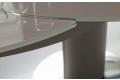 Piano in vetro colorato per tavolo rotondo