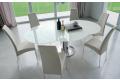 Tavolo design rotondo allungabile da soggiorno