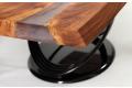 Tavolo moderno in legno massello noce secolare