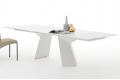 Tavolo allungabile di design bianco da soggiorno