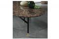 Tavolo elegante da soggiorno con piano i marmo