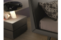 Nightstand with wood top