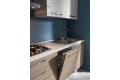 Cucina componibile con lavastoviglie a scomparsa totale