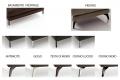 Piedino e basamento per divano moderno da salotto