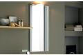 Specchiera design verticale da bagno