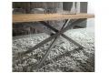 Dettaglio struttura in metallo grigio Londra