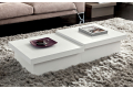 Contemporary wooden coffee tables