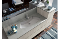 Lavabo sottopiano con top in marmo