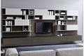 Mobile soggiorno sospeso porta tv