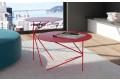 Tavolini alti di design in metallo rotondi