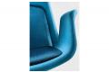 Sedia ufficio di design da visitatore o sala d'attesa di design bicolore