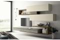 Mobile soggiorno di design sospeso dalle misure contenute
