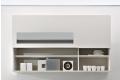 Pensile ad apertura verticale per parete soggiorno