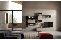 Arredo soggiorno elegante e di design con libreria componibile