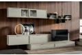 Mobile soggiorno classico moderno in legno massello