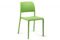 Sedia in plastica in colore lime