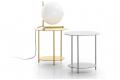 Tavolino di design alto rotondo da soggiorno