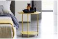 Tavolino rotondo alto per uso comodino