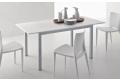 Tavolo allungabile da cucina economico con piano piano con gambe in metallo