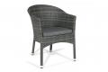 Sedia per arredamento bar in colore grigio cenere