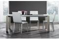 Tavolo da soggiorno di design allungabile per 6 persone con gambe perimetrali
