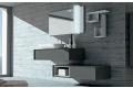 Bagno di design con lavabo soprapiano