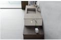 Vista dettagliata top con vasca integrata in ecomalta