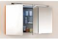 Specchiera da bagno contenitore con 3 ante a specchio interne ed esterne