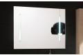 Specchio bagno con luce led ai lati moderna