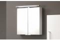Specchiera bagno moderna contenitore piccola con 2 ante a specchio