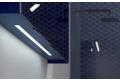 Specchio design da bagno 4 ante con luce led inferiori