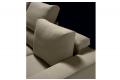 Divano di design con cuscini schienali regolabili in altezza