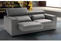 Divano di design con sedute estraibili e schienali reclinabili